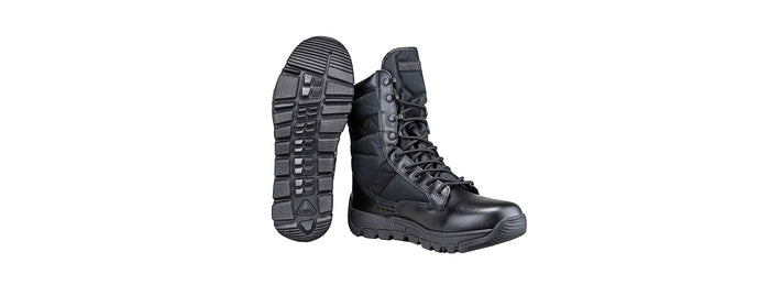 NcStar VISM ORYX Breathable Non-Slip Hight Boots - SIZE 8 (BLACK)