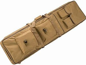 "Matrix Tactical Single Padded Rifle Bag with Extension (Color: Tan / 47"")"