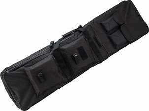 Matrix Tactical Single Padded Rifle Bag with Extension (Color: Black / 47