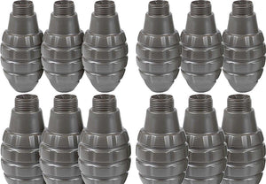 APS Hakkotsu Spare Replacement Shells For Thunder B Sound Grenade (Type: Pineapple Grenade - 12 Pack)