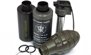 Thunder B Airsoft Co2 Simulation Grenade (Package: 3 Shell Set / Flashbang)