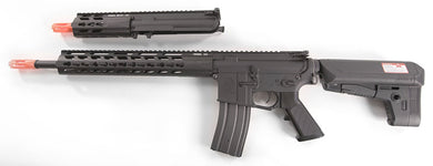 Krytac Full Metal Trident MKII SPR / PDW Upper Airsoft AEG Replica Package