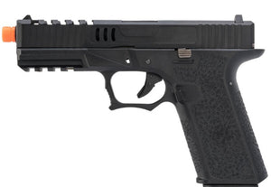 AW Custom VX7200 Series Gas Blowback Airsoft Pistol (Model: Z80 / Green Gas / Black)