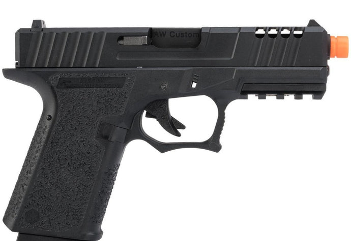 GP-AW-VX9100 AW Custom VX9 Compact Series Gas Blowback Airsoft Pistol (Model: Z80 / Black)