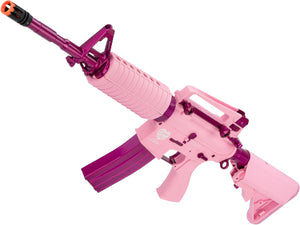 "G&G M4 Carbine ""Femme Fatale"" Special Edition M4 Combat Machine Airsoft AEG Rifle (Package: Pink / Gun Only)"