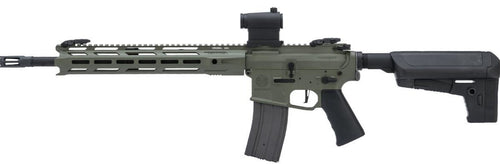 Krytac Full Metal Trident MKII-M SPR Airsoft AEG Rifle Foliage Green