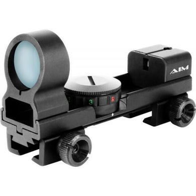 AIM SPORTS IXES Dual-illuminated Reflex Sight with interchangeable v