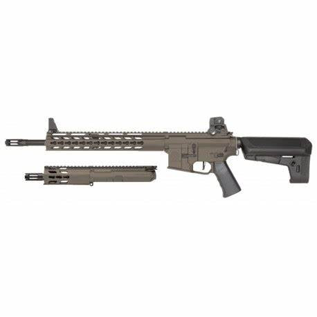 Krytac Full Metal Trident MKII SPR / PDW Upper Airsoft AEG Replica Package Tan