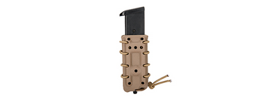 CA-1219TM High Speed Airsoft Interchangeable Pistol Magazine Belt Clip Pouch (Tan)