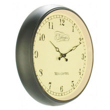 Load image into Gallery viewer, NeXtime - Wall clock – Ø 35 cm - Metal - Glass - Black - 'Aaltje'