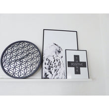Load image into Gallery viewer, NeXtime - Wall clock - Ø 50 cm - Wood/Mirror – Grey- 'Bella Mirror'