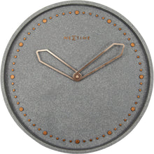 Load image into Gallery viewer, NeXtime - Wall clock - Ø 35 cm - Polyresin – Grey - 'Cross'