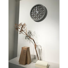 Load image into Gallery viewer, NeXtime - Wall Clock - Ø 39.5 cm - Polyresin/Wood – Grey – 'Concreto love'
