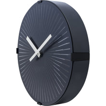 Load image into Gallery viewer, NeXtime - Wall clock- Ø 30 cm – Plastic – Motion clock- White – 'Motion Star – White'