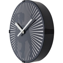 Load image into Gallery viewer, NeXtime - Wall clock- Ø 30 cm – Plastic – Motion Clock- Black – 'Dog'