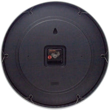 Load image into Gallery viewer, NeXtime - Wall clock - Ø 40 cm - Metal - Black - '2 Seconds'