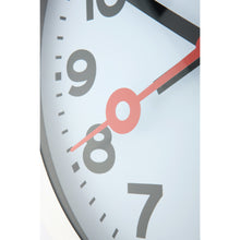 Load image into Gallery viewer, NeXtime - Wall clock – 34.8 x 4.5 cm – Aluminum - Brushed - 'Station Numbers'