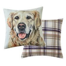 Load image into Gallery viewer, Golden Retriever Cushion