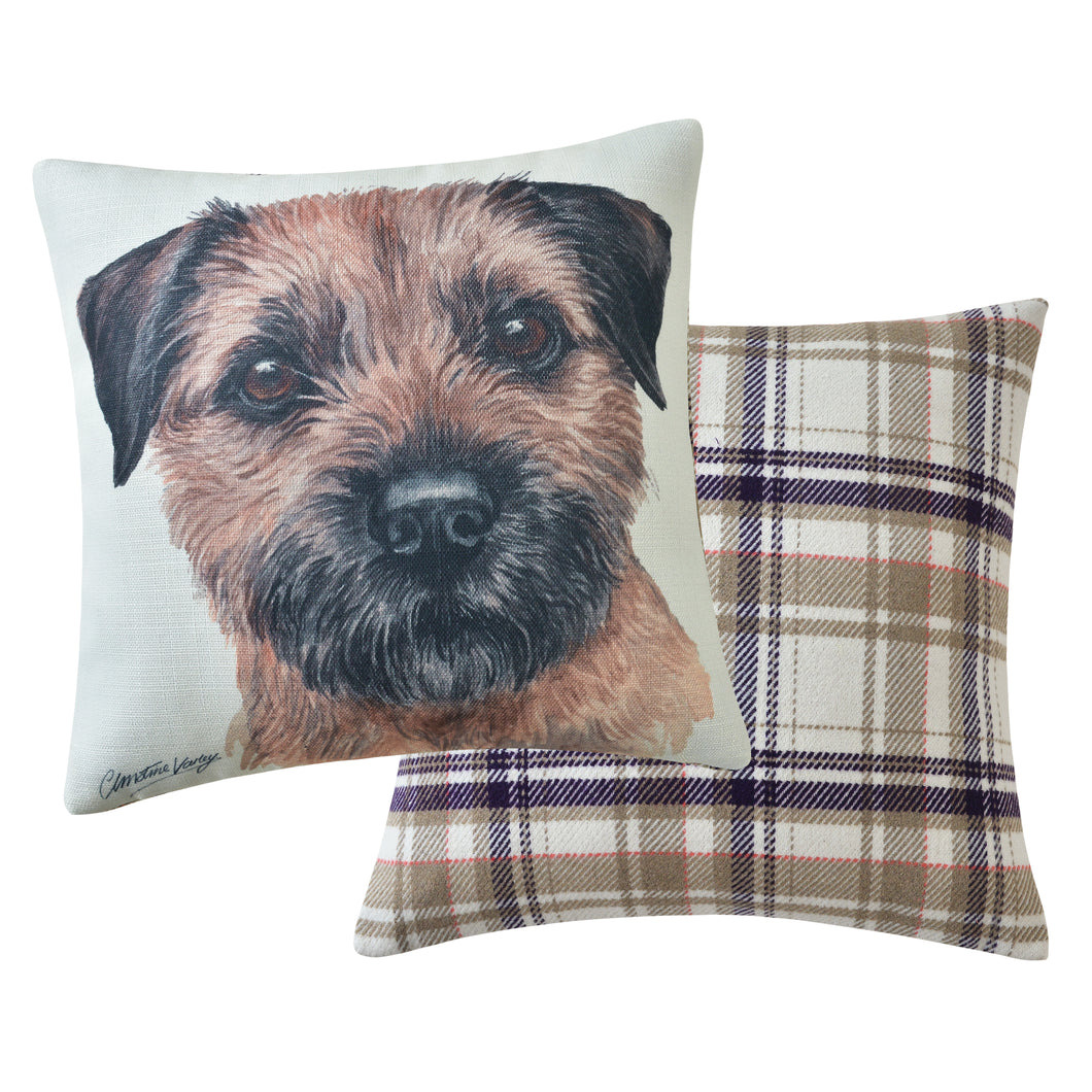 Border Terrier Cushion