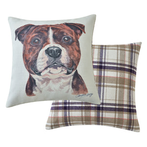 Staffordshire Bull Terrier Cushion