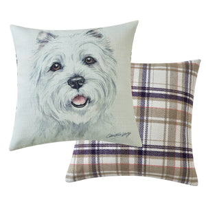 West Highland Terrier Cushion