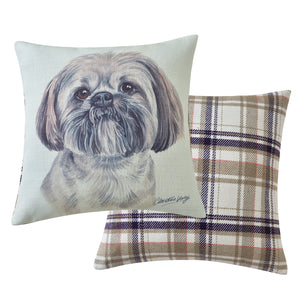 Lhasa Apso Cushion