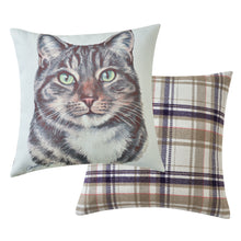 Load image into Gallery viewer, Tabby Cat Cushion