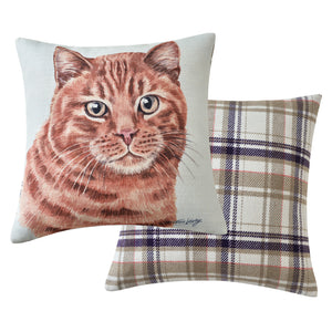 Ginger Cat Cushion