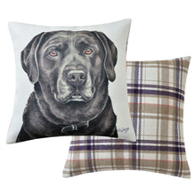 Load image into Gallery viewer, Chocolate Labrador Cushion