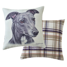 Load image into Gallery viewer, Greyhound Cushion