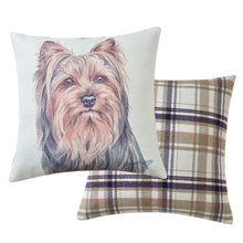 Load image into Gallery viewer, Yorkshire Terrier Cushion