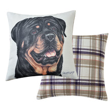 Load image into Gallery viewer, Rottweiler Cushion