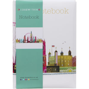 London Scene Notebook A5