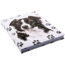 Load image into Gallery viewer, Border Collie Notebook A5