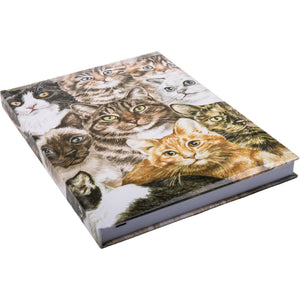 Cats Montage Notebook A5