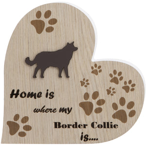 Border Collie Plaque
