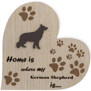 German Shepherd Plaque