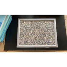 Load image into Gallery viewer, William Morris Larkspur Lap Tray