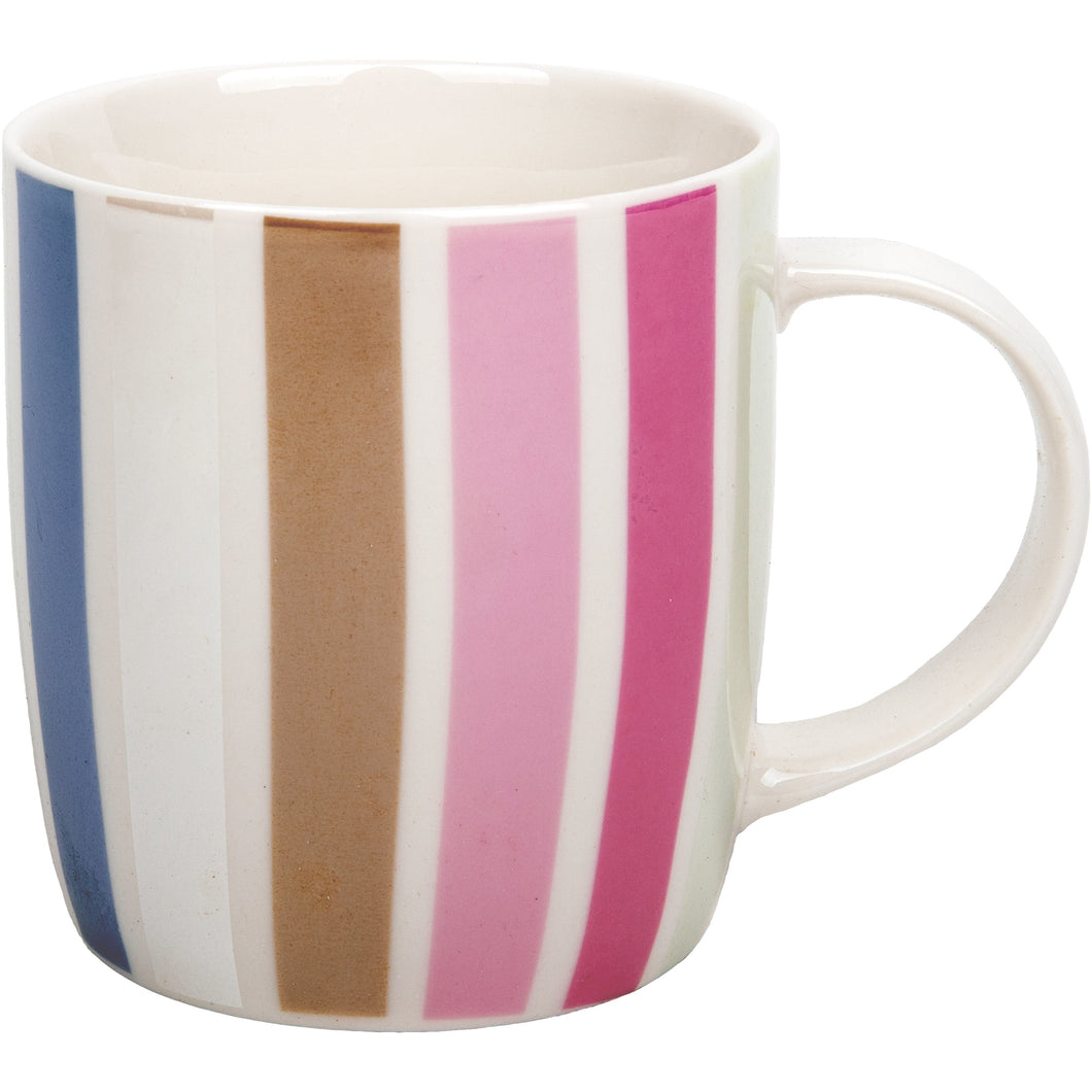 Vertical Colour Lines Mug