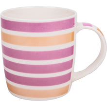 Load image into Gallery viewer, Horizontal Colour Lines Mug