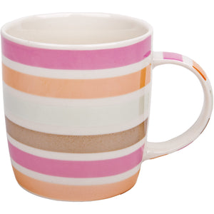 Horizontal Colour Lines Mug
