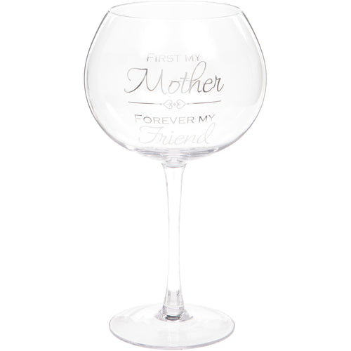 Mother Gin Glass