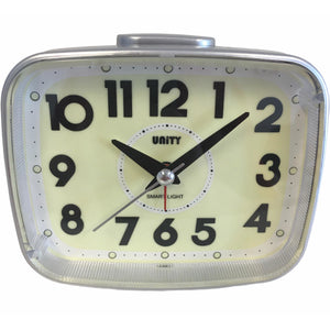 Super Luminous Alarm Clock in Black