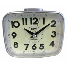 Load image into Gallery viewer, Super Luminous Alarm Clock in Silver