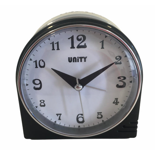 Beep Alarm Clock in Black