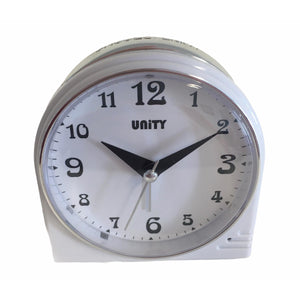 Beep Alarm Clock in White