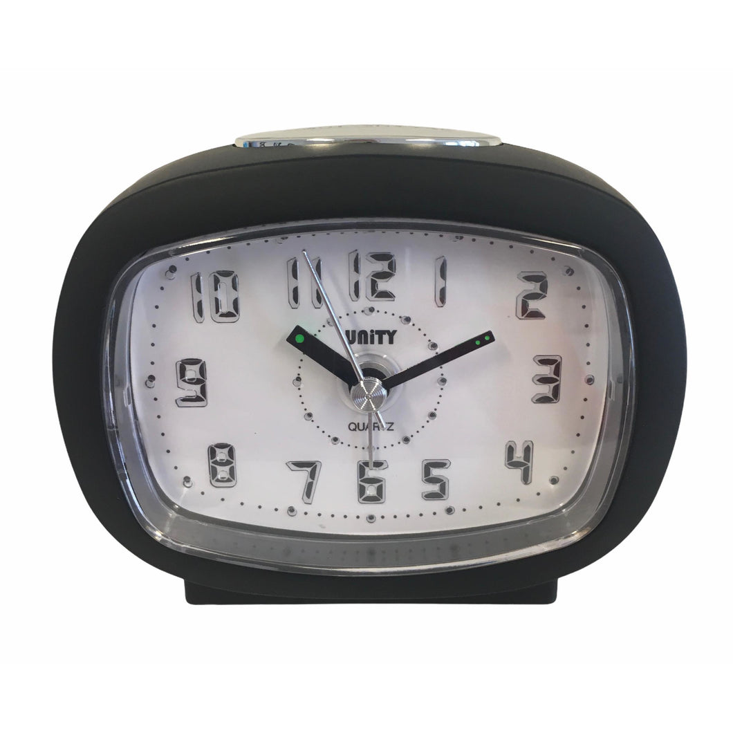 Beep Alarm Clock in Mat Black