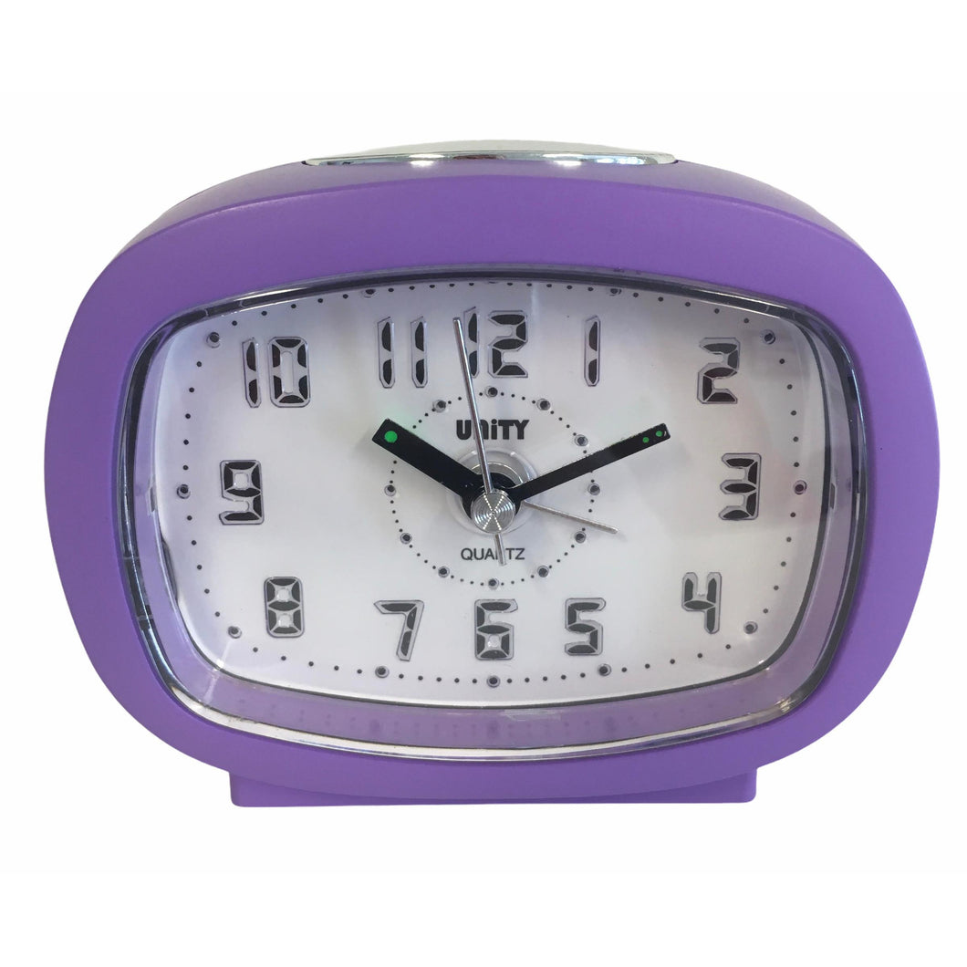 Beep Alarm Clock in Purple