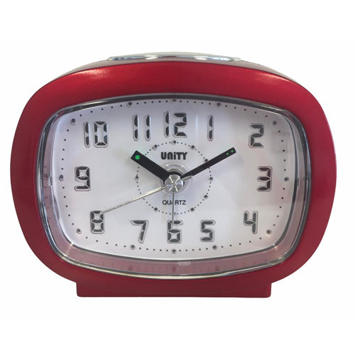 Beep Alarm Clock in Red