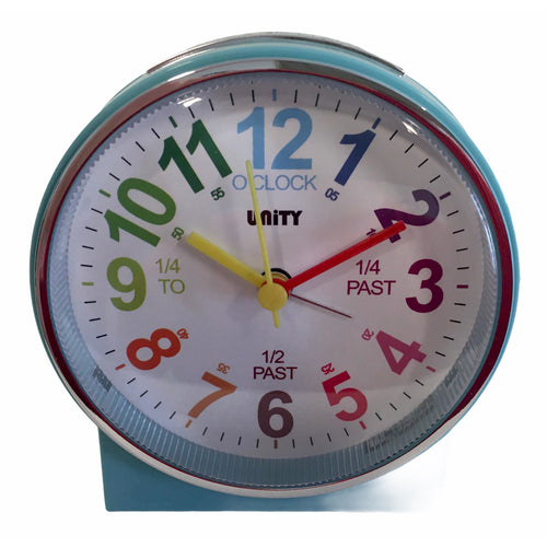 Children's Alarm Clock in Blue